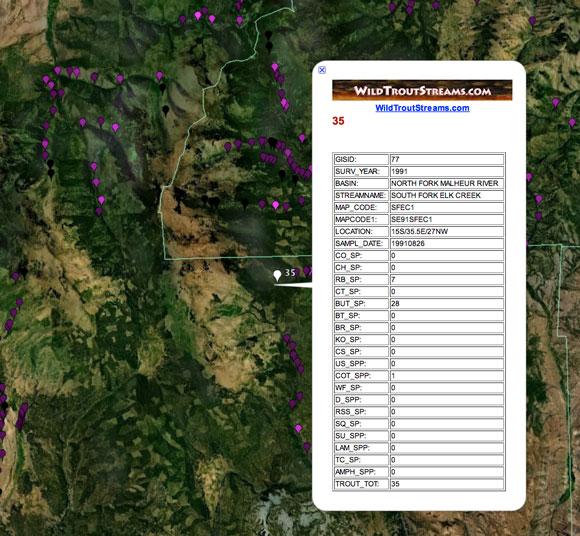 Oregon Aquatic Inventory image detail