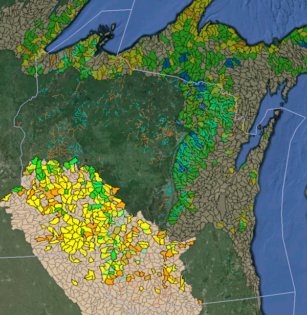 WI trout data
